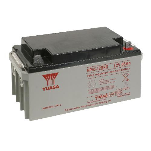 Yuasa NP65-12BFR 12V 65Ah Sealed Lead Acid Battery (Flame Retardant)