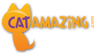 Cat Amazing Best Interactive Cat Toy Ever Logo