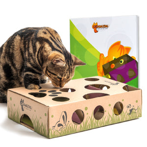 Cat Amazing - Best Interactive Cat Puzzle Toy