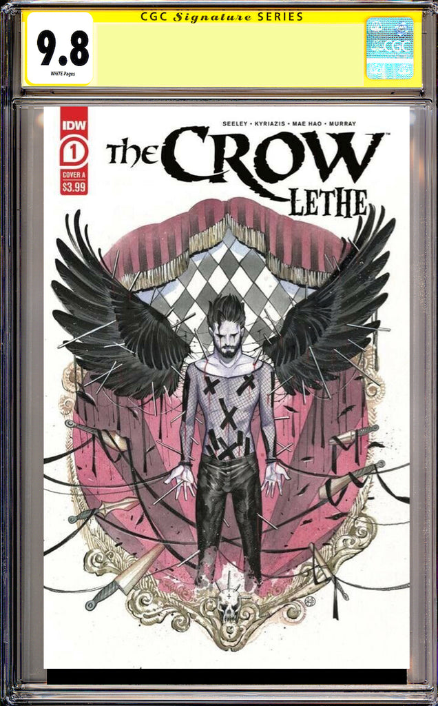 The Crow Lethe 1 2nd Print CGC 9.8 SS