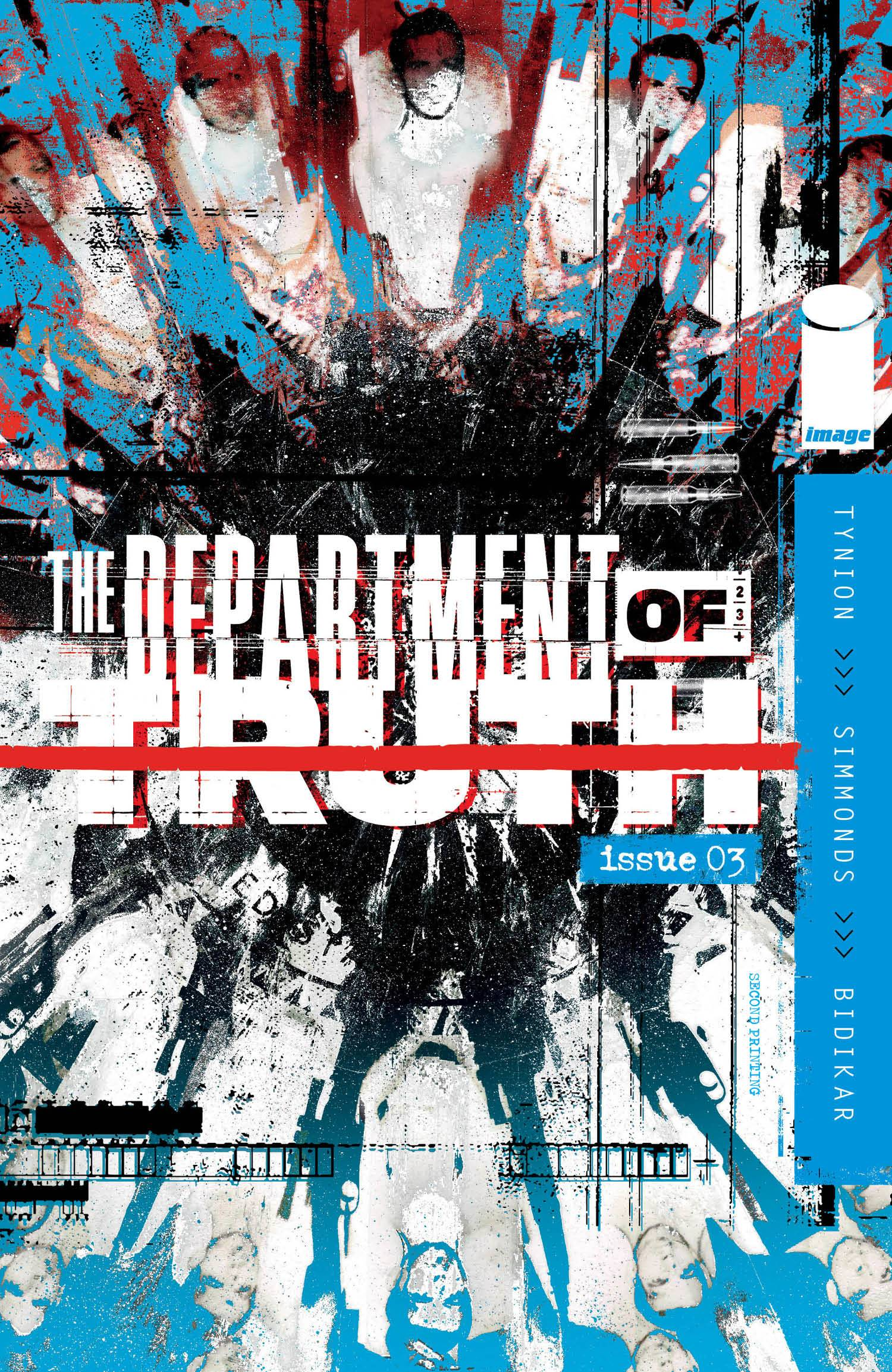 12//23//2020 Department Of Truth #4 Brian Level Exclusive Variant