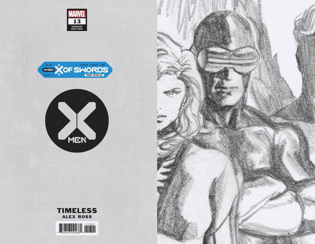 X-Men 13 1:100 Sketch Variant CGC 9.8 10/21/20