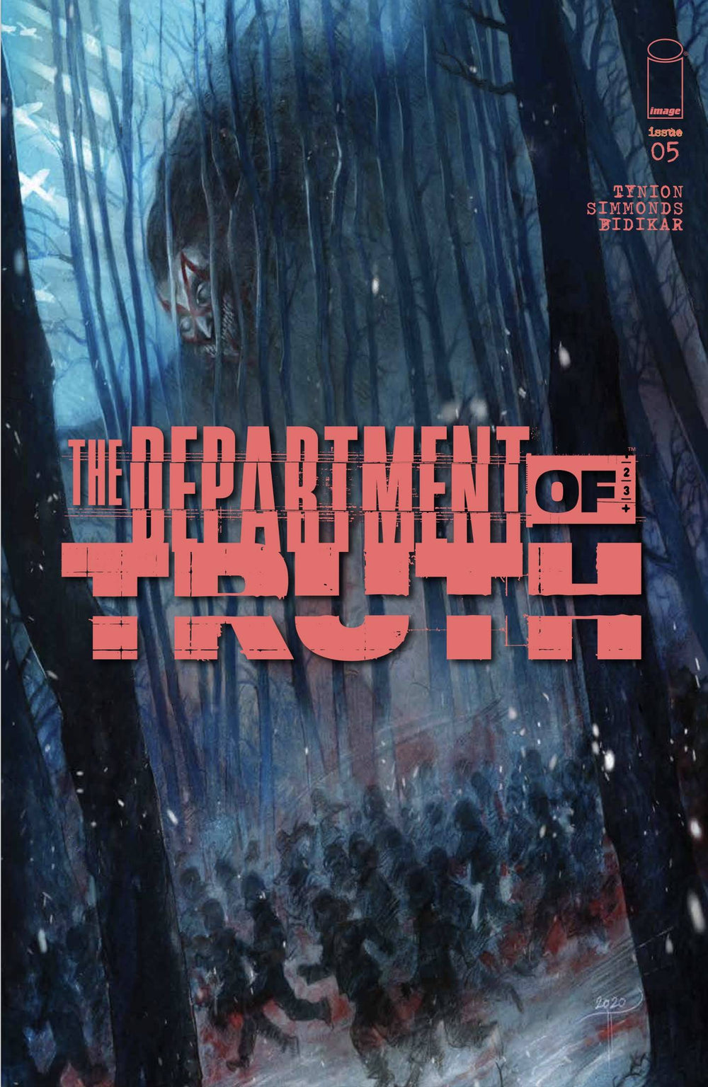 Department of Truth 5 Cover D Turrill Variant CGC 9.8 1/27/20