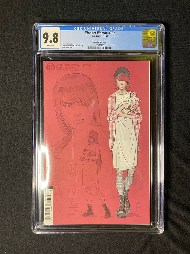 Wonder Woman 762 1:25 Variant CGC 9.8