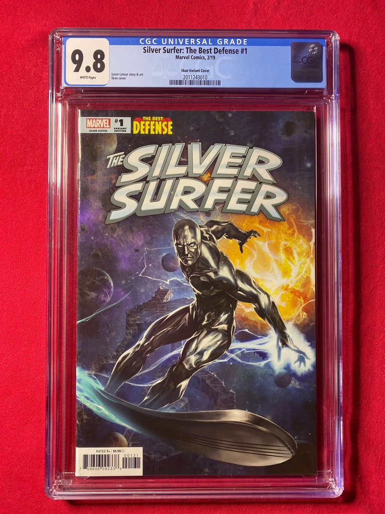 Silver Surfer Best Defense 1 Skan 1:25 Variant CGC 9.8