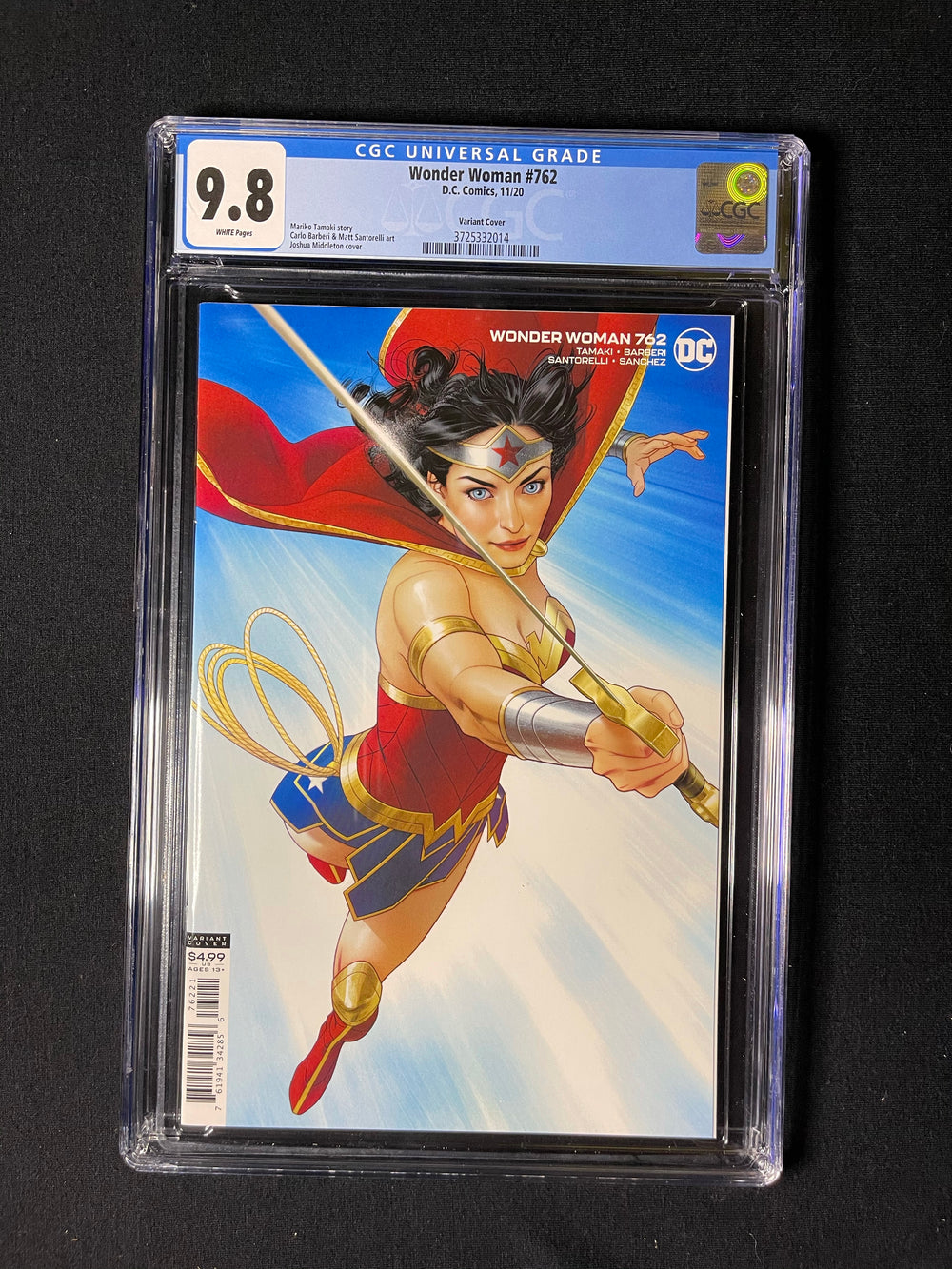 Wonder Woman 762 Variant CGC 9.8