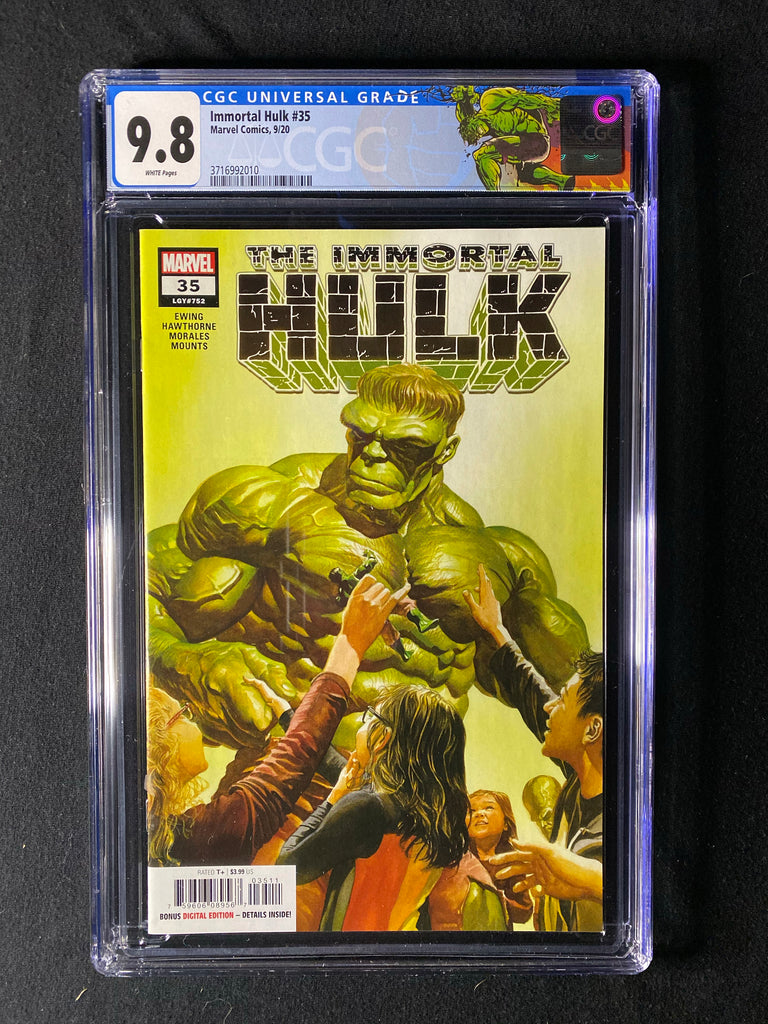 Immortal Hulk 35 CGC 9.8