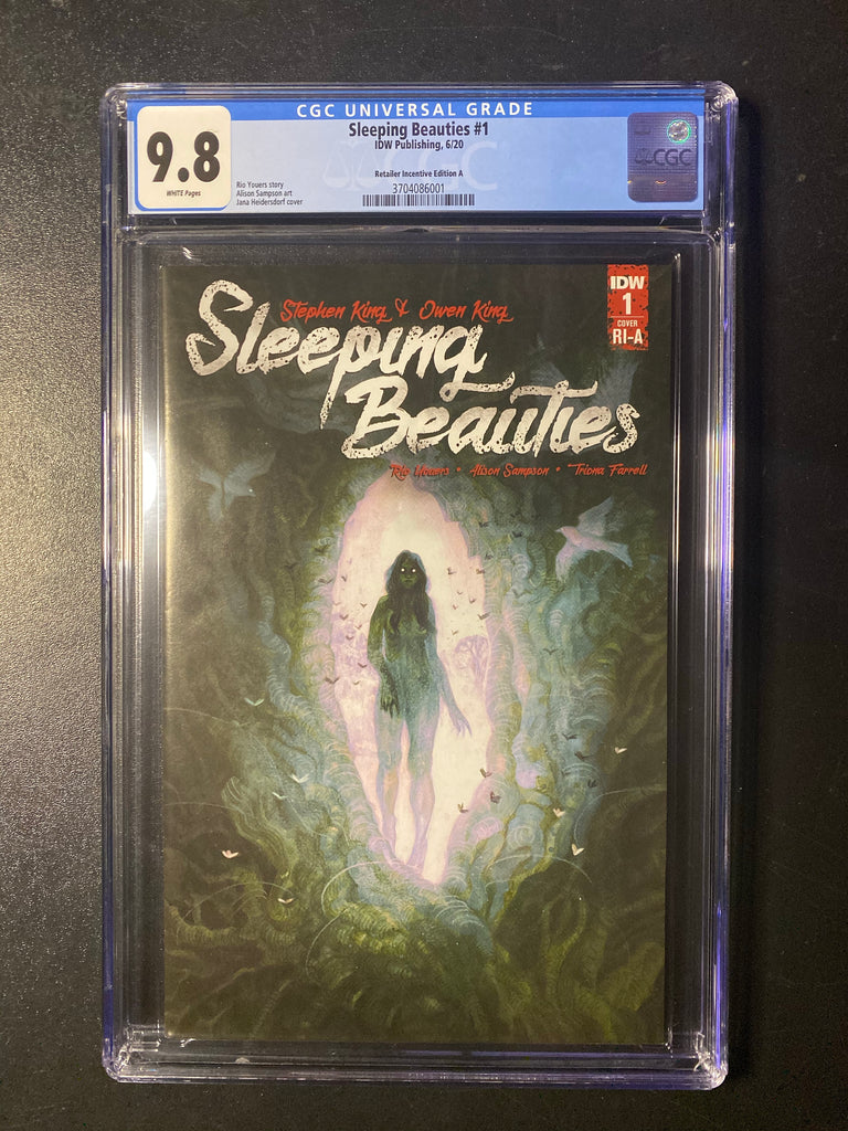 Sleeping Beauties 1 1:10 Variant CGC 9.8