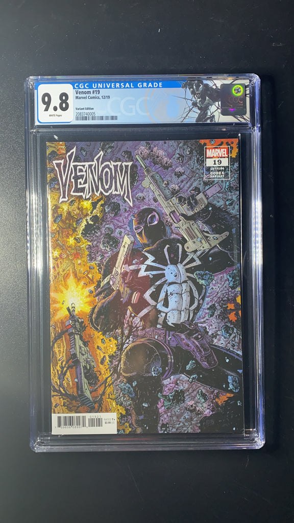 Venom 19 1:25 Codex Variant CGC 9.8 With Gen 1 Venom Label