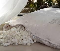Healthy Body Head to Toe Shredded Rubber Filled Pillow w/ Organic Cotton Zippered Cover - Natural Linens