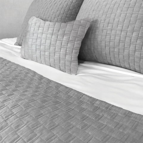 BedVoyage eco-mélange™ Bamboo Rayon/Viscose, Cotton Blend Quilted Shamlet - Natural Linens
