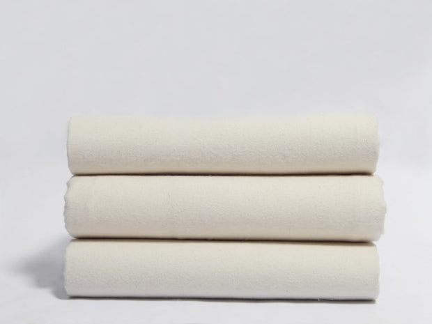 Organics and More Naturesoft Organic Cotton 5 oz. Flannel Sheets - Natural Linens