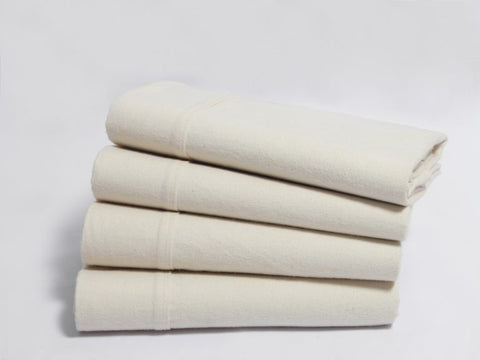 Organics and More Naturesoft Organic Cotton Flannel Sheets - Natural Linens