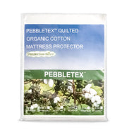 Dreamtex Greenzone Pebbletex™ Organic Cotton Waterproof Mattress Protector - Natural Linens