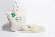 Organics and More Naturesoft Organic Cotton Turkish Towels - Natural Linens