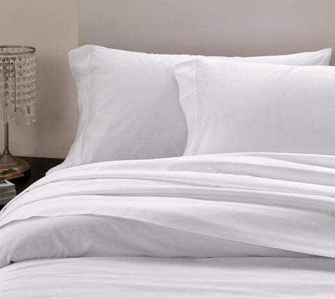 Bellino Raso Pillowcase Sets - Natural Linens