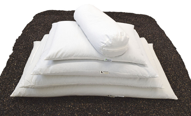 Bean Products WheatDreamz Organic Buckwheat Hull Pillows - Natural Linens