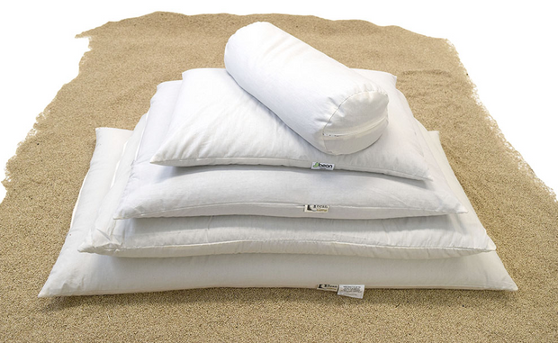 Bean Products WheatDreamz Organic Millet Hull Pillows - Natural Linens