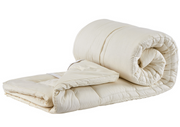Sleep & Beyond myTopper® Wool Mattress Topper - Natural Linens