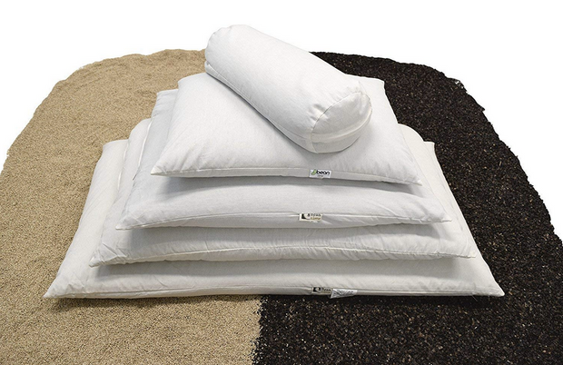 Bean Products WheatDreamz Organic Multi-Grain Pillows - Natural Linens