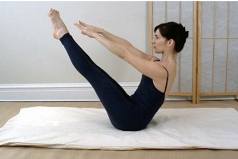 Bean Products Cotton Yoga/Pilates Fitness Mat - Natural Linens