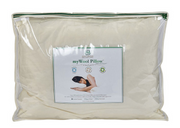 Sleep & Beyond myWool Pillow - Natural Linens