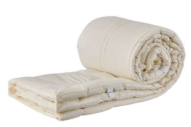 Sleep & Beyond myPad Wool Mattress Pad - Natural Linens