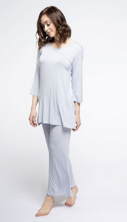 Yala Haley Pajama Set - Natural Linens