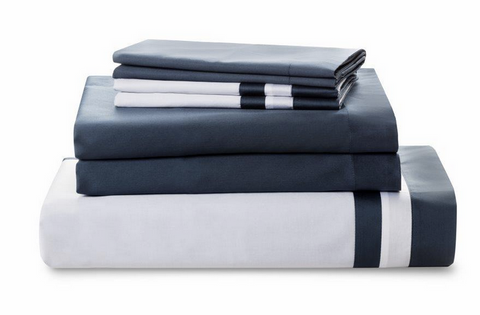 Downright Vilanova European 300 TC Sateen Sheet Set - Natural Linens
