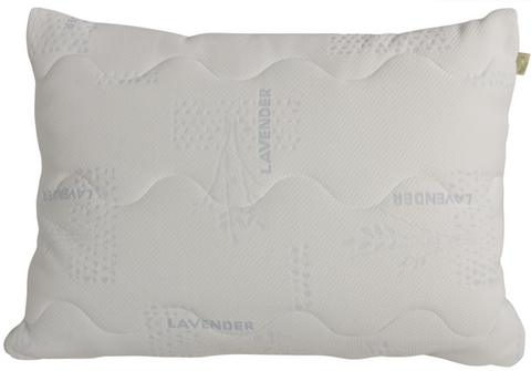 Natura Lavender-Scented Granulated & Solid Latex Pillow - Natural Linens