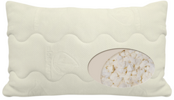 Natura Aloe-Infused Latex Pillow - Natural Linens