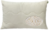 Natura Vibrance Granulated Latex Pillow - Natural Linens