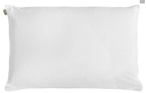 Natura Embrace Dual Memory Foam & Solid Latex Pillow - Natural Linens