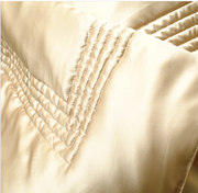 kumi kookoon Classic Collection Silk-Filled Throws - Natural Linens
