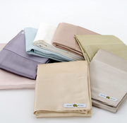kumi kookoon Classic Charmeuse Silk Pillowcase - Natural Linens