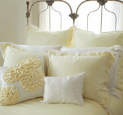 kumi kookoon Organza Silk Pillow Covers - Natural Linens
