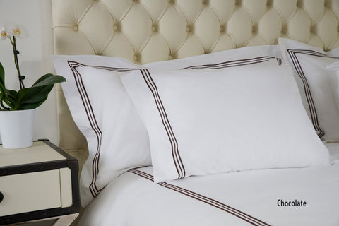 Bellino Tivoli Hotel Collection Shams - Natural Linens