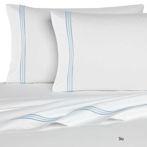 Bellino Tivoli Hotel Collection Pillowcases - Natural Linens