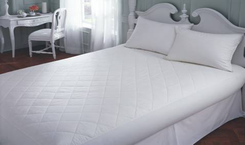 Downright 100% Cotton Mattress Pad - Natural Linens