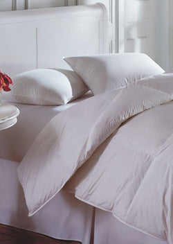 Downright Cascada White Goose Down/Feather Blend Pillows - Natural Linens