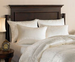 Downright Eliasa Canadian White Goose Down Pillows - Natural Linens