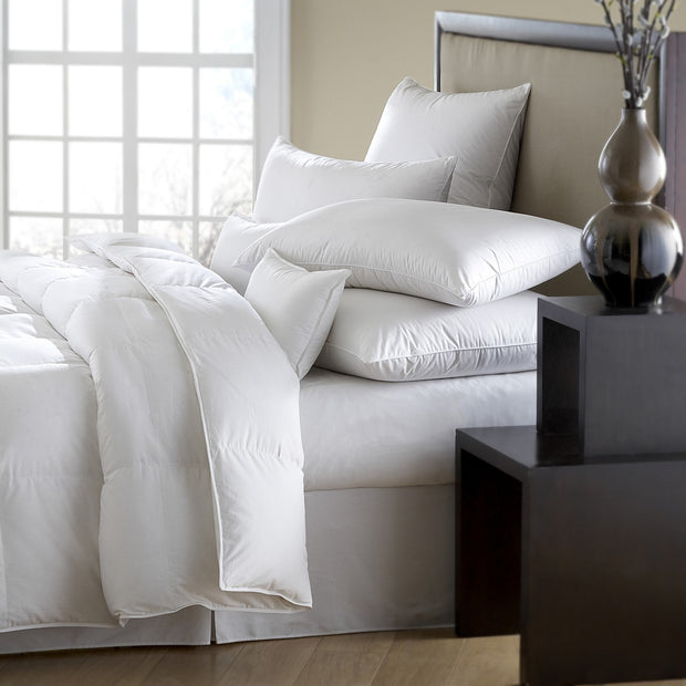 Downright Mackenza 560+ White Down Pillows - Natural Linens