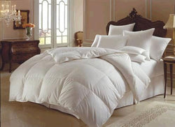 Downright Himalaya Collection White Goose Down Comforters - Natural Linens