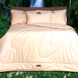 Natura Organic Wool-Filled Comforter - Natural Linens