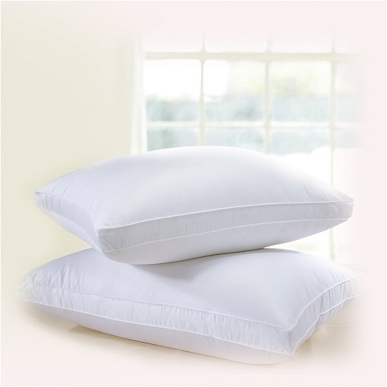 Downright Himalaya Gusseted Siberian and Polish Goose Down Pillows - Natural Linens