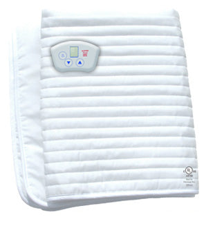 ElectroWarmth Heated Massage Table Cover - Natural Linens
