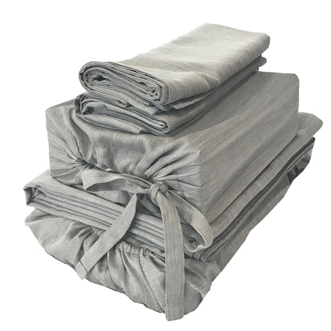 BedVoyage eco-mélange™ Bamboo Rayon/Viscose, Cotton Blend Sheet Sets - Natural Linens