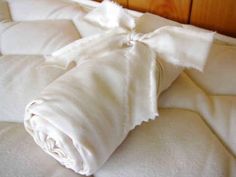 Holy Lamb Organics Body Pillowcases - Natural Linens