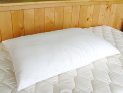 Holy Lamb Organics Wool Bed Pillows - Natural Linens