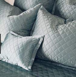 kumi kookoon Quilted Pillow Sham - Natural Linens